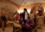 Освящение храма в честь Царственных Страсторпцев