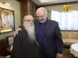 Александр Лукашенко навестил митрополита Филарета