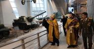 Совершено освящение музея Истории Великой Отечественной войны